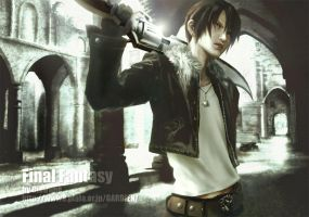 Squall Leonhart by Cielrune