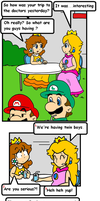 cake in the oven 5 by Nintendrawer