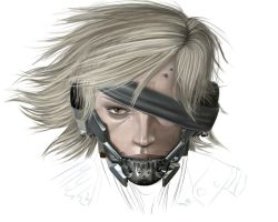 Metal Gear Rising, Raiden by Jay5204