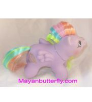 Baby Tickle Custom Little Pony by mayanbutterfly