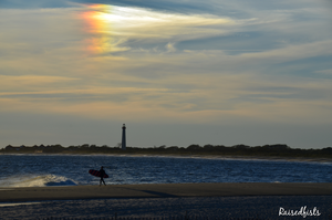 Cape May Lighthouse at sunset by RaisedFists