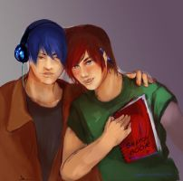Dee and Nathaniel by Fayerin