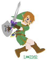 Link - Good vs. Evil by Link2262