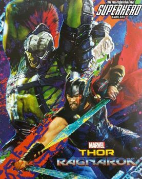 First Look at Thor and Hulk in Thor: Ragnarok by Artlover67
