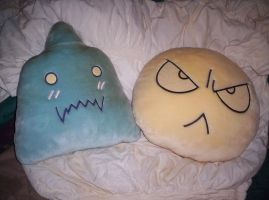 For Sale Ed and Al FMA Pillows by MindOfPain