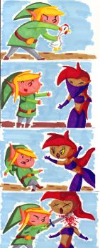 Link is Awesome 1 by mrstupes