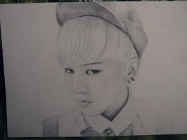G-Dragon Crayon fanart by lera-park
