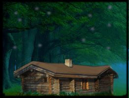 Woodland Cabin by Dypritee