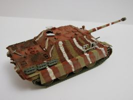 Jagdpanther with own Zimmerit by DasMarc