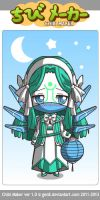 ChibiMaker futureroyal girl by autumwind