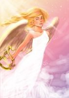 Angel by stephainestarfire
