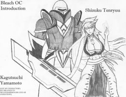 OC Intro Sketch- Bleach by Cambrie-Sabella