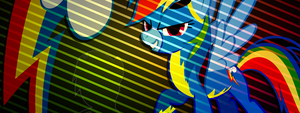 138 - Request: Rainbow Dash Facebook Cover by Ov3rHell3XoduZ