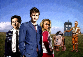 The Doctor's New Companions by SuperAshBro