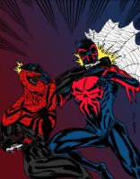 Spider-Man: Superior vs. 2099 by edCOM02