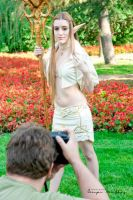 Making off Photoshoot Elf from Lineage by Hekady