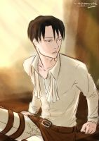 Sleepy Heichou by Nippaaah