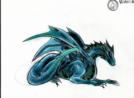 Waterclan Dragon (2) by Origa6000