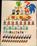 The Sonic 12 Days of Christmas by BiancAlligator