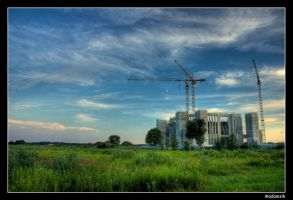HDR - Temple in progress by adamsik