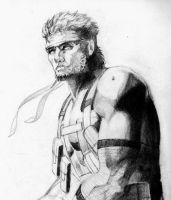 Solid Snake by devious101