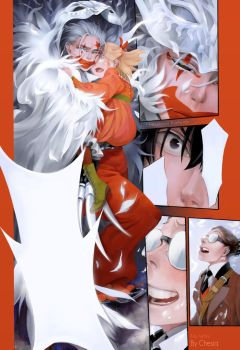 DGM manga coloring 210 chapter by MeryChess