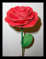 Duct Tape Rose for fairy-cakes by DuckTapeBandit