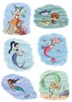 more mermaids by roby-boh