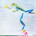 Tree frog by 7Esther7