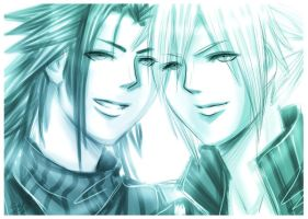 FF7: Sketch.. by DarkLitria