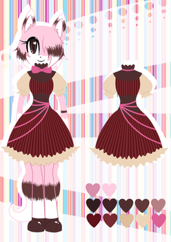 Contest Entry - Cupcake's new outfit by Christin-Cat-Bat