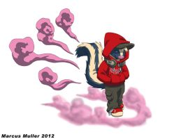 Wicked Incense Skunk by marcusmuller