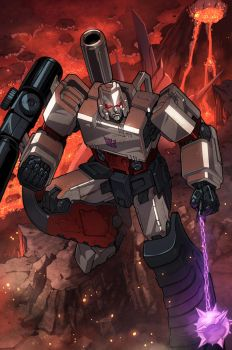 megatron colours by markerguru