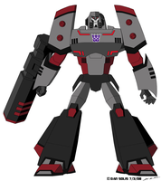 TF: Animated - Megatron by BoggeyDan