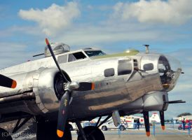 B17G Flying Fortress Up Close by xxliquidrainbowxx