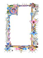 Illuminated Scroll C by hollyann
