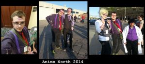 Anime North 2014 - Night Vale Cosplayers by Zal001