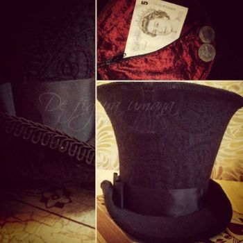 Mad as a Hatter Cosplay- Inside my Hat by GuiltyOne