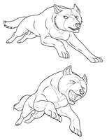 Free Ginga Lines by Kali-caracal