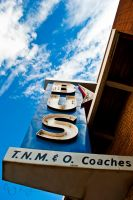 Bus Sign by creynolds25