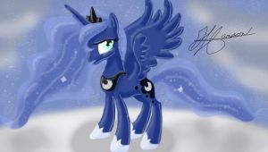 Luna, of the Night by MusicBrushLoveland