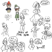 OTGW doodles by Space-bunnies