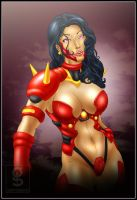 Commish 91: Lady Savant by rhardo