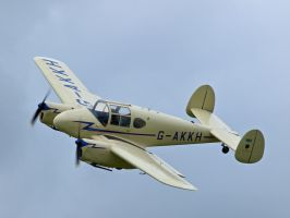 Miles Gemini - June Air Show Old Warden by davepphotographer