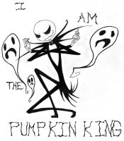 I Am the Pumpkin King by CreateXDestroy