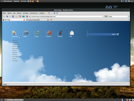 Gnome Startpage by vicing