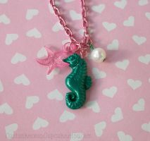 Under the Sea Necklace by CantankerousCupcake