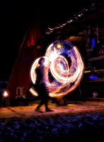 Poi Dancer by nickick