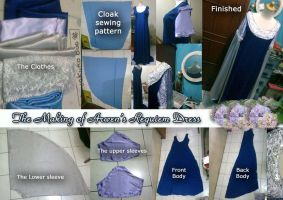 How to sewing Arwen's Requiem by seawaterwitch