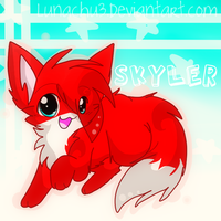 +Chibi Skyler+ -commission- by Lunachu3